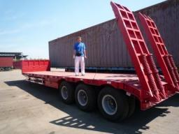 Полуприцеп-трал 60 тонн (по техзаданию заказчика)