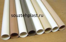 Труба ПВХ 50х1,8 белая (серая)
