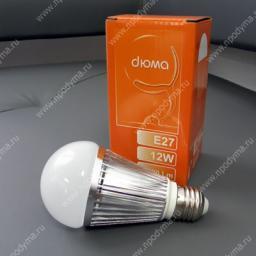 Светодиодная лампа DYMA BT-DLS12WE27