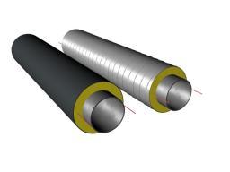 Труба ППУ с греющим кабелем