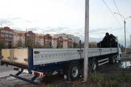 Услуги длинномера 20-30 тонн в Новосибирске