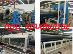 экструзонная линия по производству напорных труб из полиэтилена для водопровода и газопровода