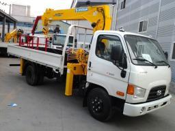 Hyundai HD78 грузовой-бортовой с манипулятором