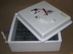 Инкубатор для яиц «Идеальная наседка» автоматический, 220/12, цифровой