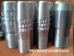 Штуцер 2-6-32 ст.03Х17Н14М3 ГОСТ 22792-83