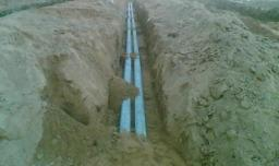 Укладка трубопроводов водопроводных