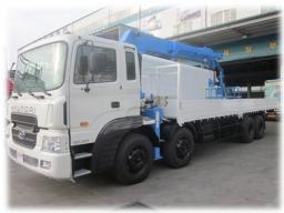 Манипулятор Hyundai HD 320 грузовой бортовой с КМУ Hiab 270T в Краснодаре, Ростове, Сочи