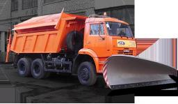 Комбинированная Дорожная Машина на базе самосвала КамАЗ-65111 (6х6)(модель ЭД-405А2)