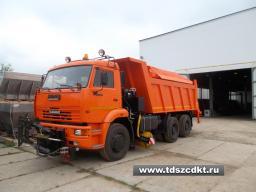Комбинированная Дорожная Машина на базе самосвала КамАЗ-6520 (6х4, 20 тонн)(модель ЭД-405В1)