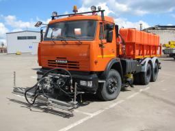 Комбинированная Дорожная машина КО-829Б1-01 на шасси КамАЗ-65115 (ПМ+ПЩ)