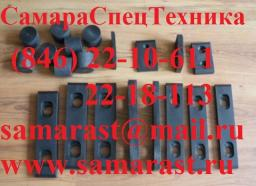 Комплект плит скольжения для автокрана КС-35715