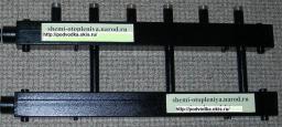 Коллектор отопления для котельной на 3 контура