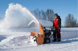 ремонт снегоуборщика.