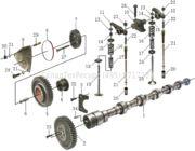 Запчасти для погрузчиков - Коленвалы для двигателей вилочных погрузчиков