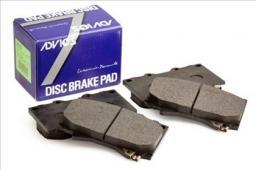 Колодки тормозные дисковые ADVICS SN133P, передний комплект