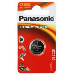 Батарейка литиевая Panasonic Lithium Power CR2032 3V, 220mAh