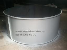 Форма для производства колодезных колец КС 20.9