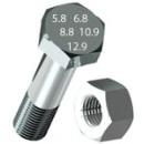 Болт 10х25 DIN 933 оцинк