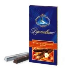 Шоколад БАБАЕВСКИЙ ВДОХНОВЕНИЕ с ореховым кремом 100.гр.