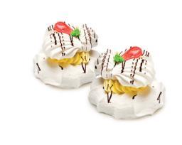 Воздушное двойное пирожное