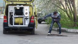 Прочистка канализации, устранение засоров круглосуточно! аварийный вызов