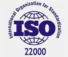 Сертификат ISO 22000:2007 (ISO 22000:2005) система менеджмента безопасности пищевой продукции