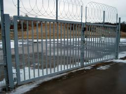 Ворота распашные «МЕТОЛ»
