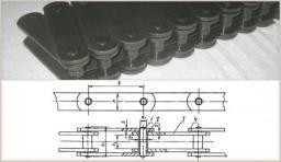 Цепь тяговая М80-2-100-1