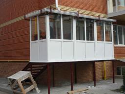 Балконы металлопластиковые, лоджии в таганроге - объявление .