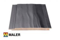 Стеновые панели с волнистой структурой и с торцевым шпунтовым соединением 14x120x2100