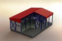 Холодильный склад по типовому проекту, ёмкостью 2000т