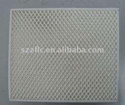 Мокрый занавес,охлаждённый материал,фильтр для охладителя с картонной рамкой