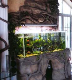 Декор аквариума, декор для аквариума, декор для аквариумов, декор аквариумов