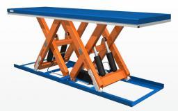 стол подъемный с двойными горизонтальными ножницами