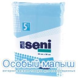 Пеленки Сени Софт Эконом 60x90 см., 30 шт.