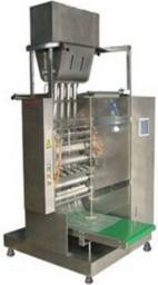 Многоручьевой фасовочно упаковочный аппарат DXDK-320 формирование упаковки
