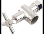 Комплектующие Сунержа / Вентиль 3D левый крест