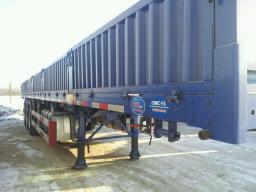 Полуприцеп-контейнеровоз бортовой CIMC г/п 60 тонн