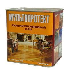 Полиуретановый лак для бетона, металла, дерева