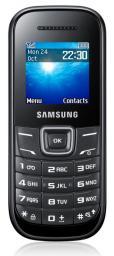 """Мобильный телефон Samsung GT-E1200 Keystone 2 черный моноблок 1.52"""""""
