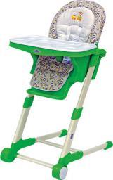 Стульчик для кормления BABY COMFORT, зеленый (RICH TOYS)