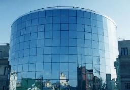 Фасад алюминиевый структурный