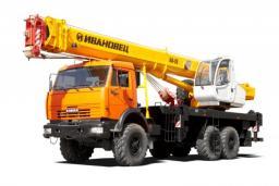 Автокран Ивановец КС-45717К-3Р на шасси КамАЗ-43118 (6х6, г/п 25 т, вылет 30,7 м)