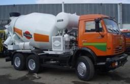 Автобетоносмеситель АБС-7DA на шасси КамАЗ-65115-62 (Тигарбо)