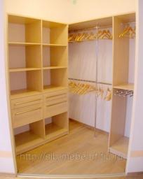 Шкафы для гардеробной комнаты №9