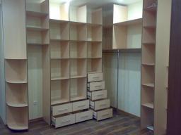Шкафы для гардеробной комнаты № 25