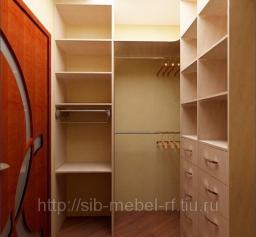 Гардеробная комната на заказ №12