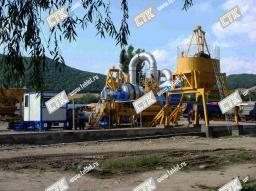 Мобильный асфальтовый завод QLB 30