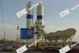 Китайский бетонный завод HZS25 купить можно у нас. Производительность 25м3/ч.