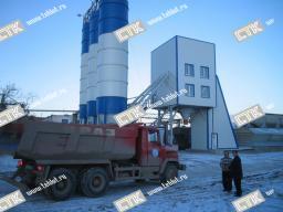Китайский бетонный завод HZS35 купить можно у нас. Производительность 35м3/ч.